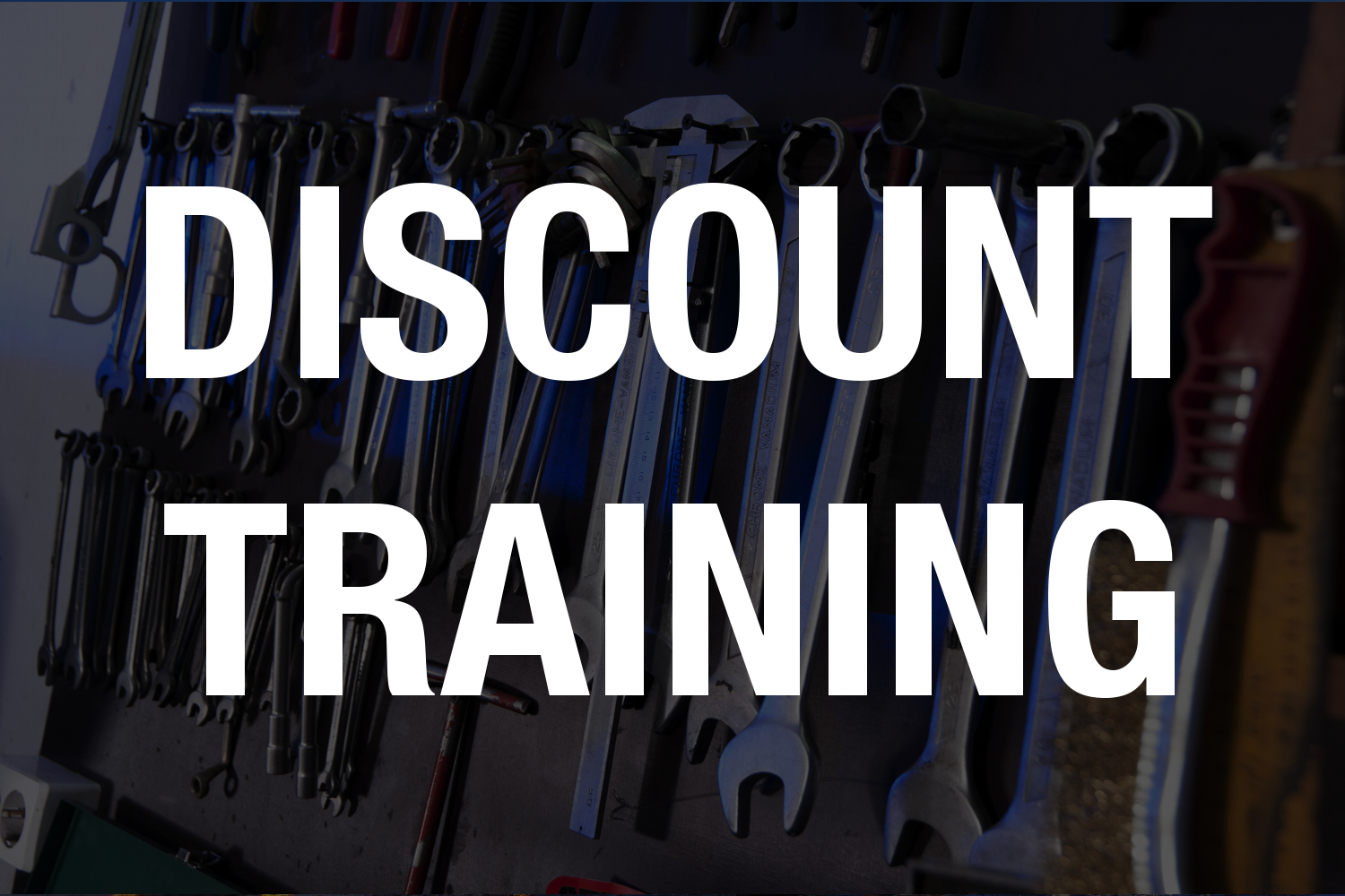 Discount Training